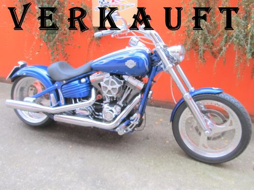 Harley-Davidson Showbike Custom Bike 41.500€ Umbau Rocker Custom