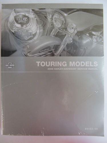 HARLEY-DAVIDSON SERVICE MANUAL 2008 TOURING MODELLE 99483-08 ENGLISCHE AUSF.