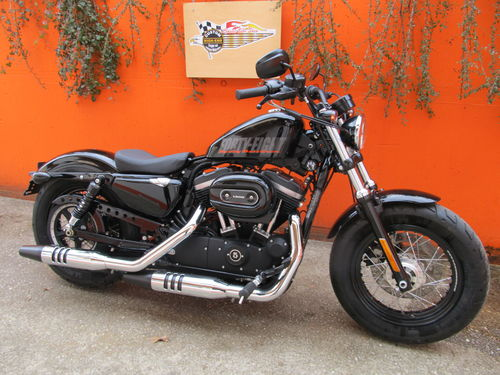 HARLEY DAVIDSON XL 1200 FORTY EIGHT 2014 MIT WENIGEN KM