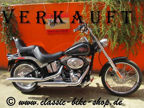 HARLEY DAVIDSON SOFTAIL CUSTOM - DEUTSCHES MODELL - TOP ZUSTAND