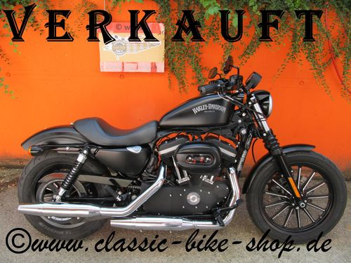 HARLEY DAVIDSON XL 883 IRON - DEUTSCHES MODELL