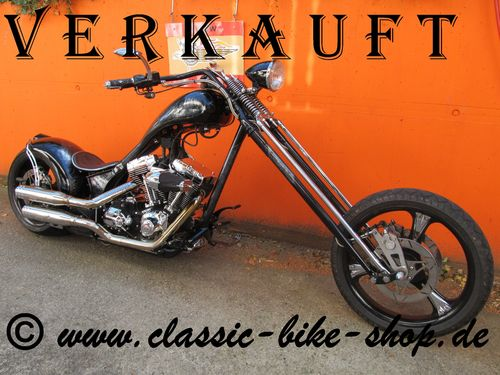 "Harley-Davidson High End Custom Chopper ""Showbike"""