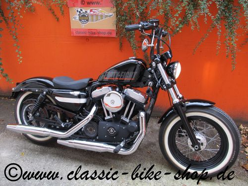 HARLEY DAVIDSON FORTY EIGHT 1200CC BOBBER UMBAU